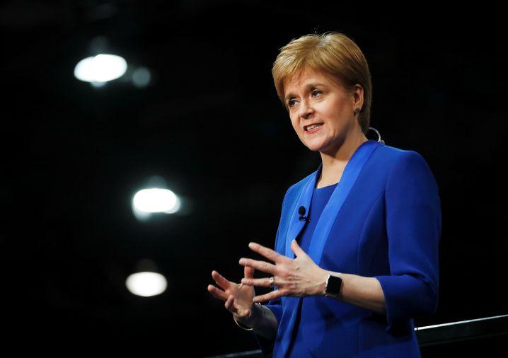 """SVP-Chefin Nicola Sturgeon: """"Boris Johnson hat erstens kein Recht, Schottland aus der EU zu nehmen und zweitens kein Recht zu verhindern, dass das schottische Volk über seine eigene Zukunft bestimmt"""""""