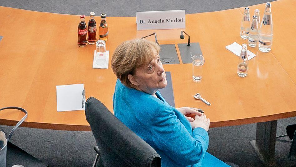 Zeugin: Bundeskanzlerin Angela Merkel am Freitag im Wirecard-Untersuchungsausschuss des Bundestags