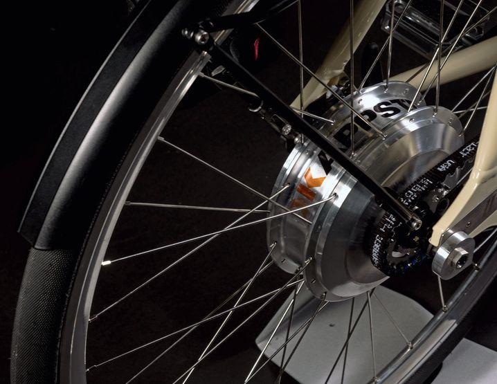 Kappstein E-Konzeptbike, Motor 250 Watt. Das Rad ist noch nicht am Markt.