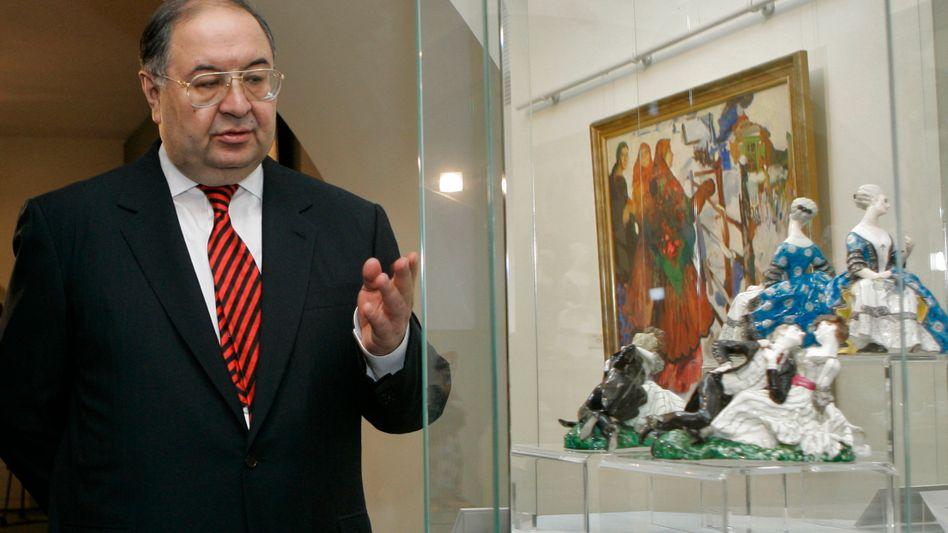 Verkauft Anteile an seiner Holding: Alischer Usmanow, hier auf einem Archivfoto von 2008