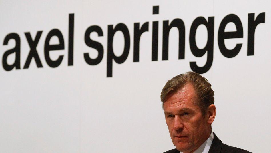 Droht Personalabbau? Axel Springer-Chef Mathias Döpfner vor schwierigen Entscheidungen