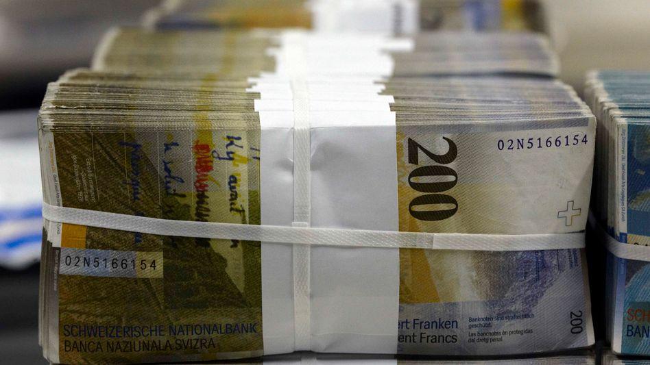 Starker Franken: Die Liquidität am Geldmarkt wird deutlich ausgeweitet