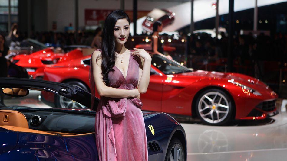 Auto Show in Peking: Der Markt kommt in Fahrt