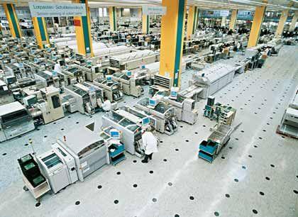 FujitsuSiemens-Produktion in Deutschland: Mitarbeiter unter Betrugsverdacht