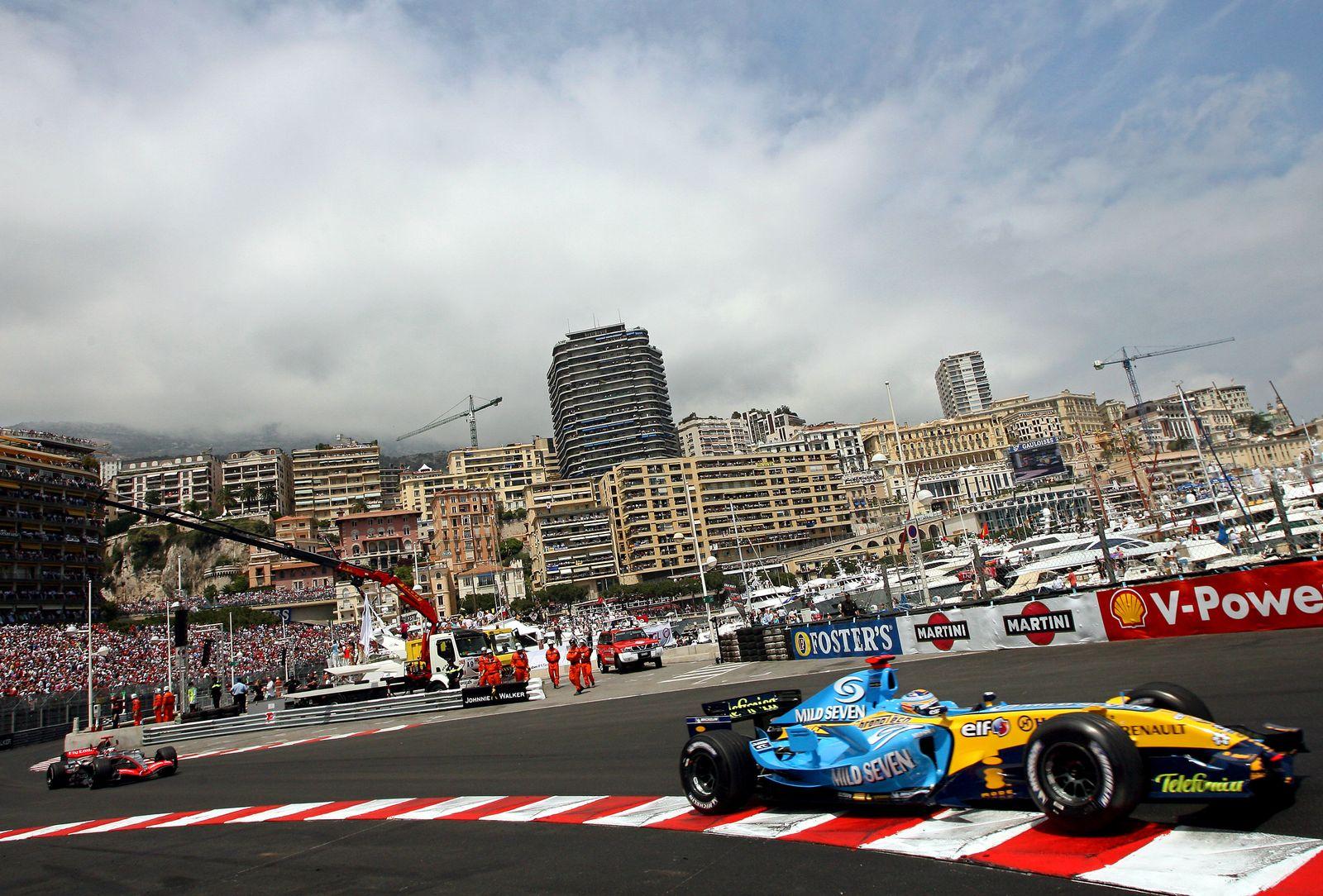 Formel 1 / Rennstrecken / Monaco Circuit