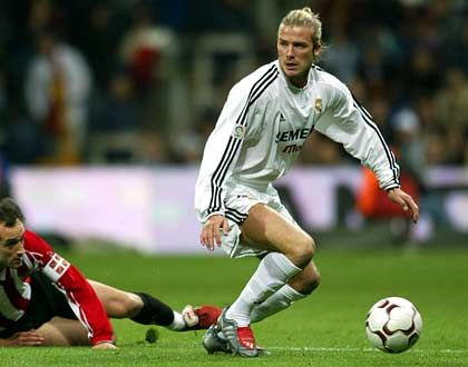 Fragwürdiger Trendsetter: David Beckham