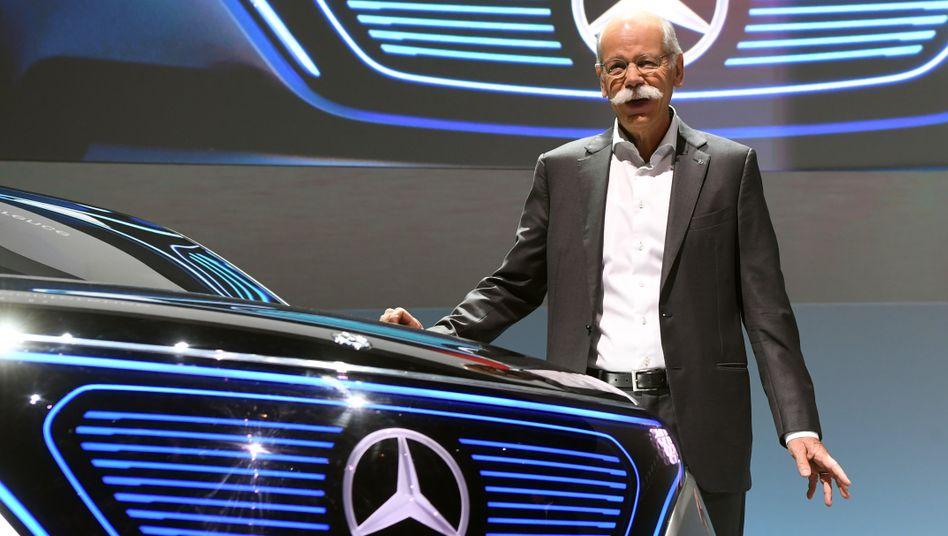 Dieter Zetsche: Mit 8,6 Millionen Euro Jahressalär für 2017 ist Zetsche Topverdiener beim Daimler