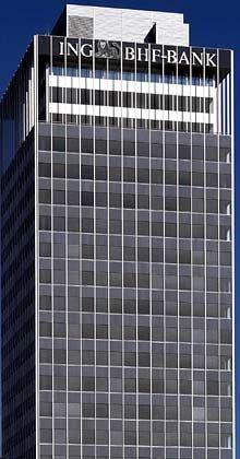 Neuer Finanzvorstand: Zentrale der ING BHF-Bank