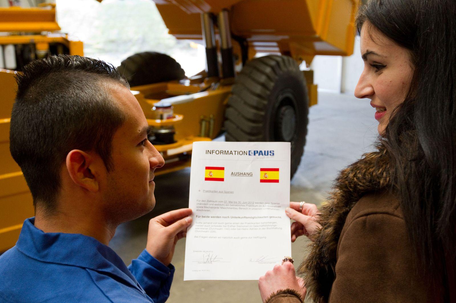 Spanier / Ausbildung Deutschland
