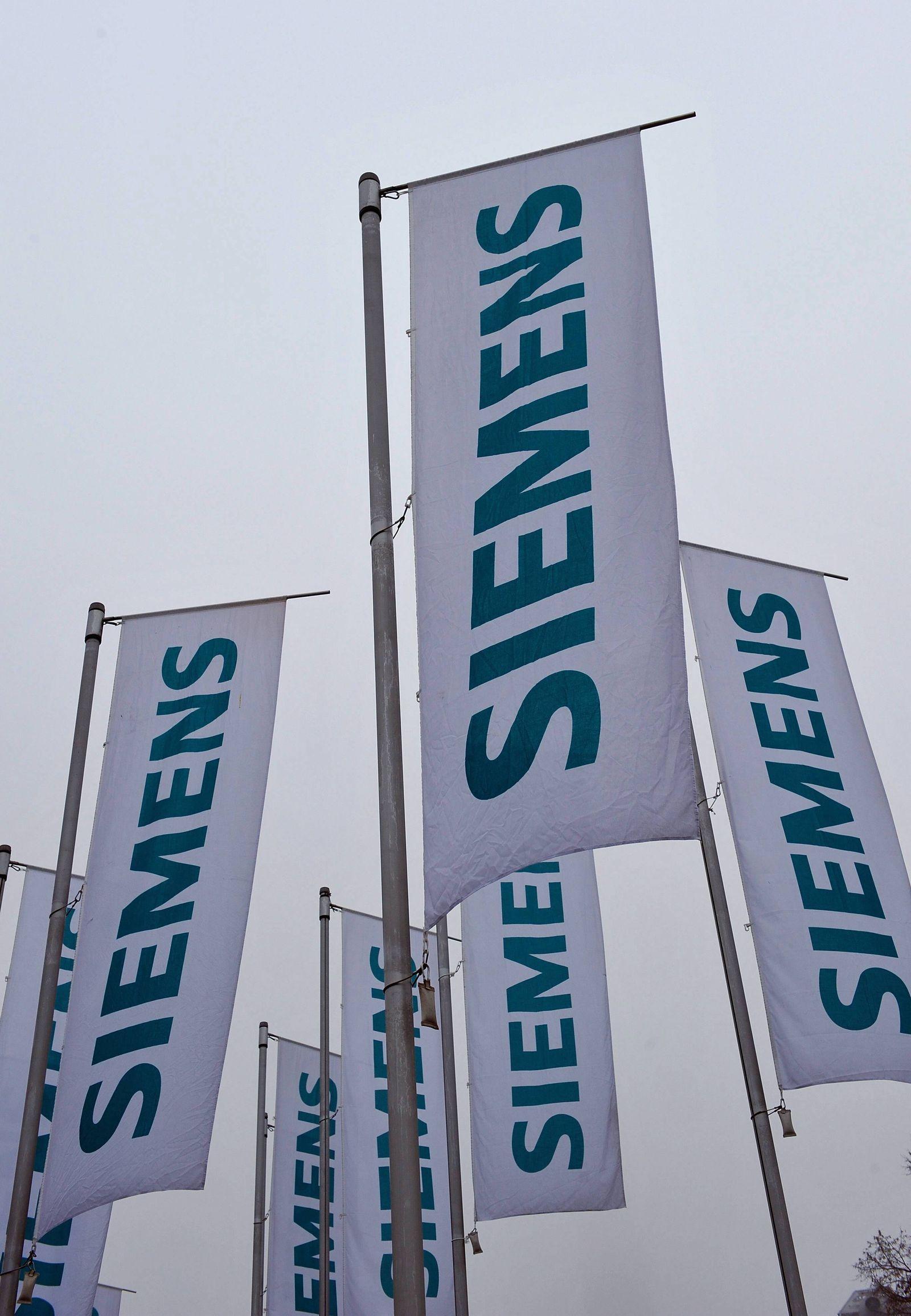 NICHT VERWENDEN Siemens-Fahnen