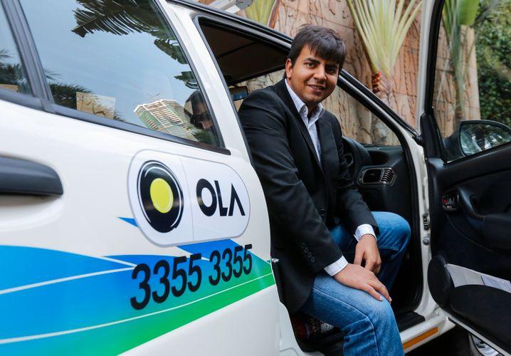 Ola: Der indische Fahrdienstvermittler macht Uber auf dem Subkontinent das leben schwer