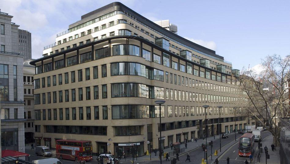 Mietverträge sollen auslaufen: Eines der Gebäude der Deutschen Bank in London