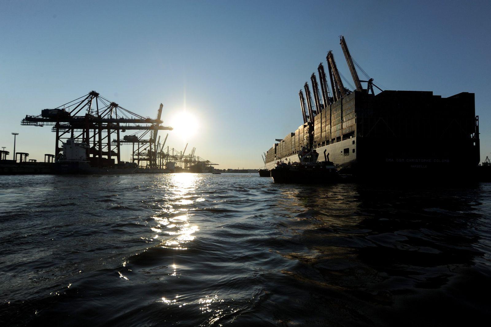 Hamburg / Hafen / Container / Konjunktur