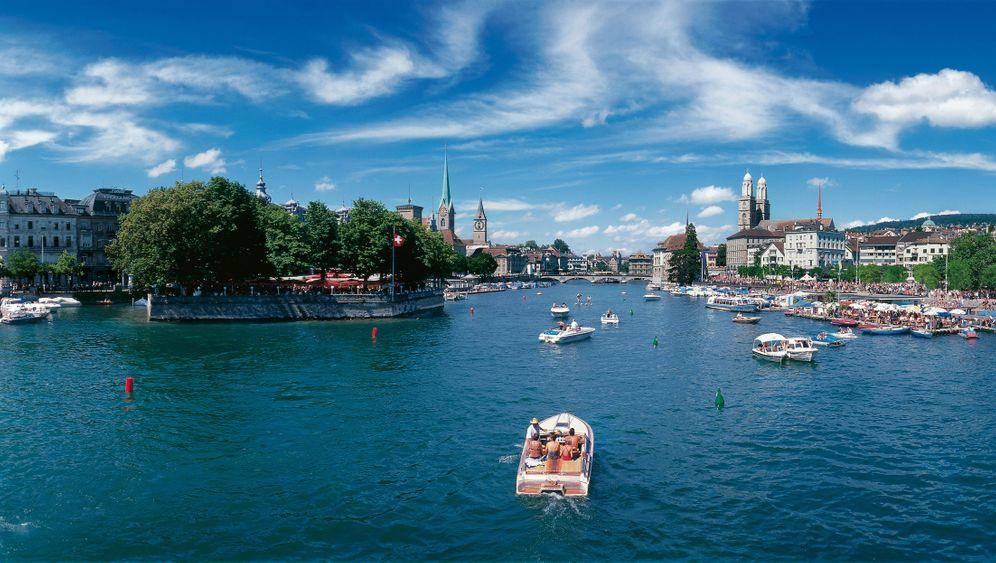 Zürich: Badeurlaub in der Stadt