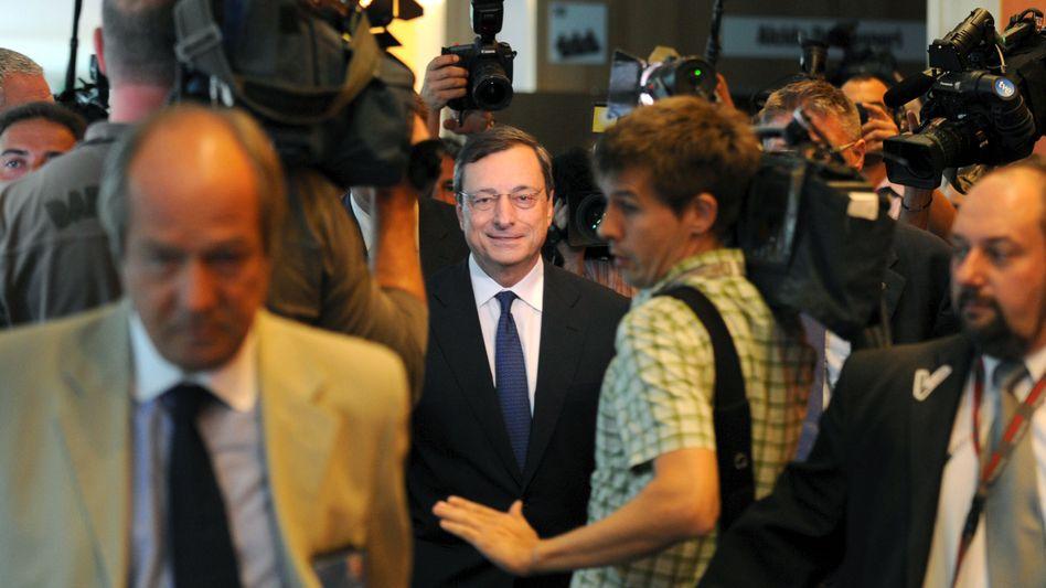 EZV-Chef Mario Draghi: Wenig Vertrauen in seine Entscheidungen bei vielen Bundesbürgern