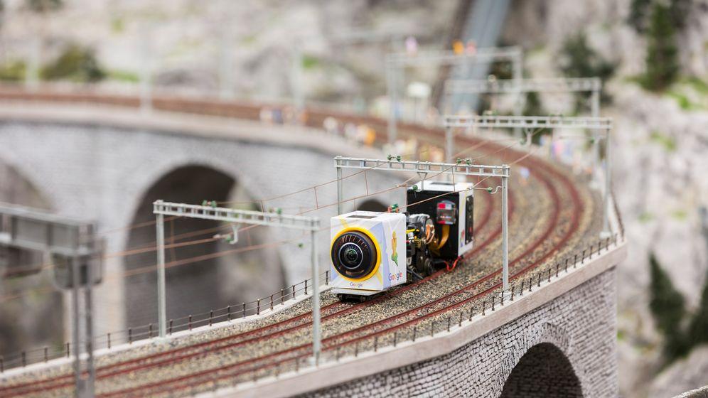 Street View: Googles Aufnahmen aus dem Miniaturwunderland