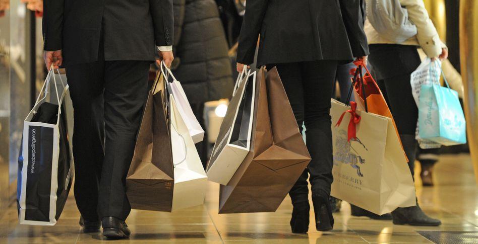 """Shopping in München: """"Nur eine Richtung - nach oben"""""""