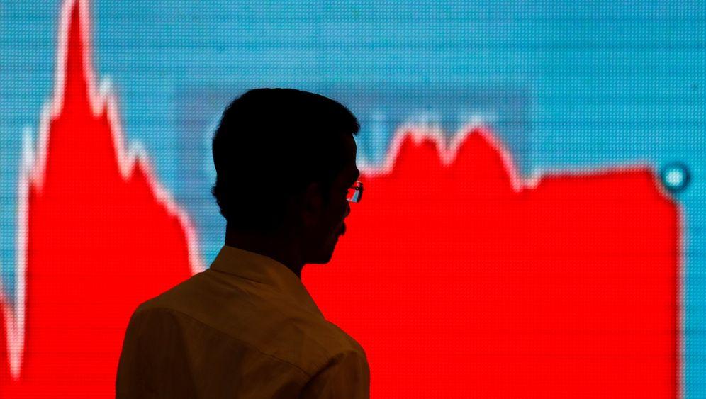 Fallhöhe der Börsen: So viel haben Dow und Dax noch zu verlieren