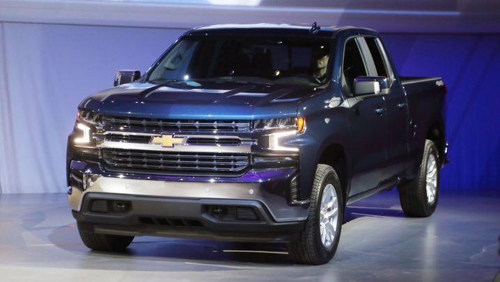 Dick, dicker, am dicksten: Das sind die Auto-Stars der Detroit Motor Show