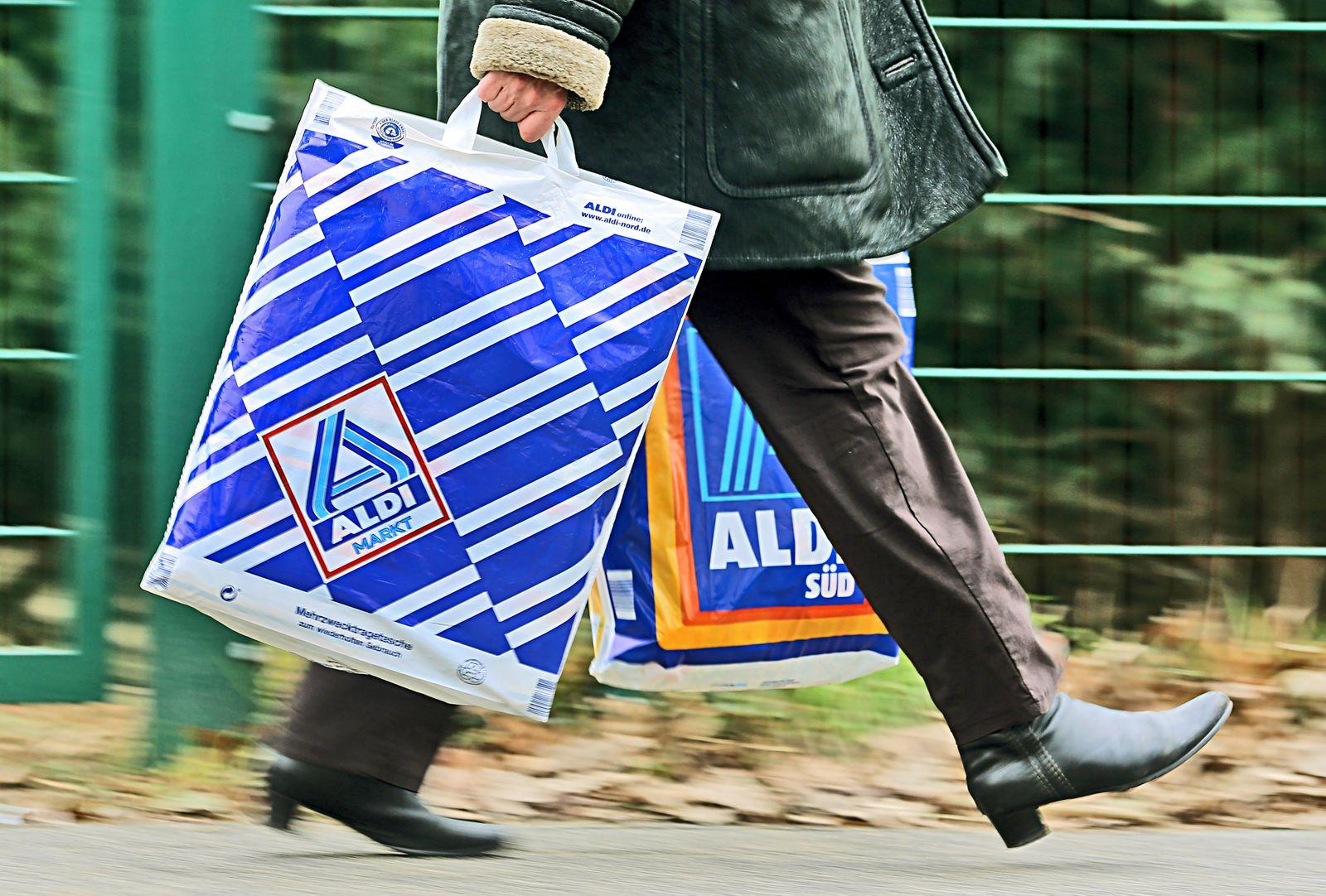 Einkaufstüten von Aldi