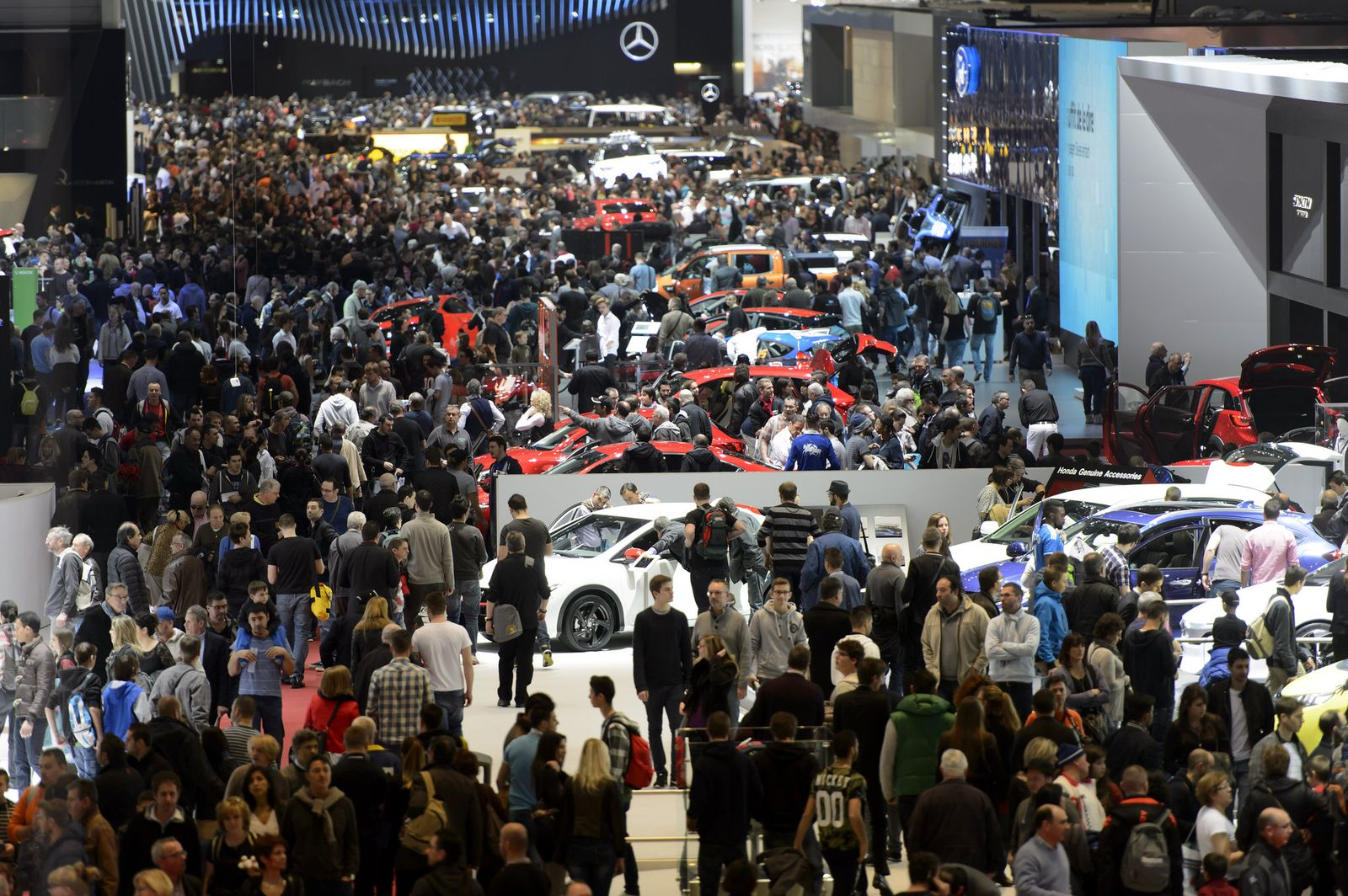 Internationalen Automobil Salon Genf