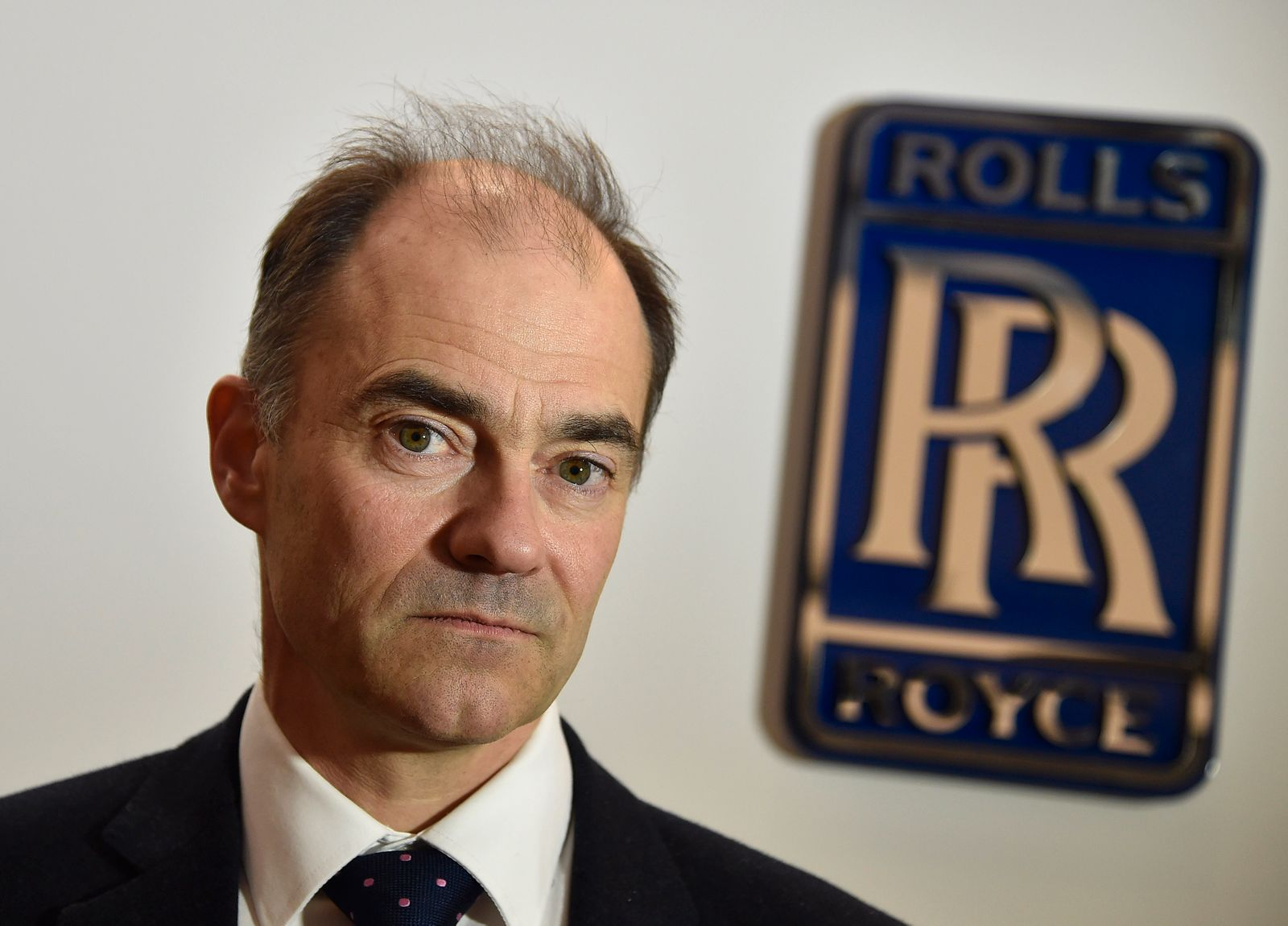 Warren East, CEO of Rolls-Royce