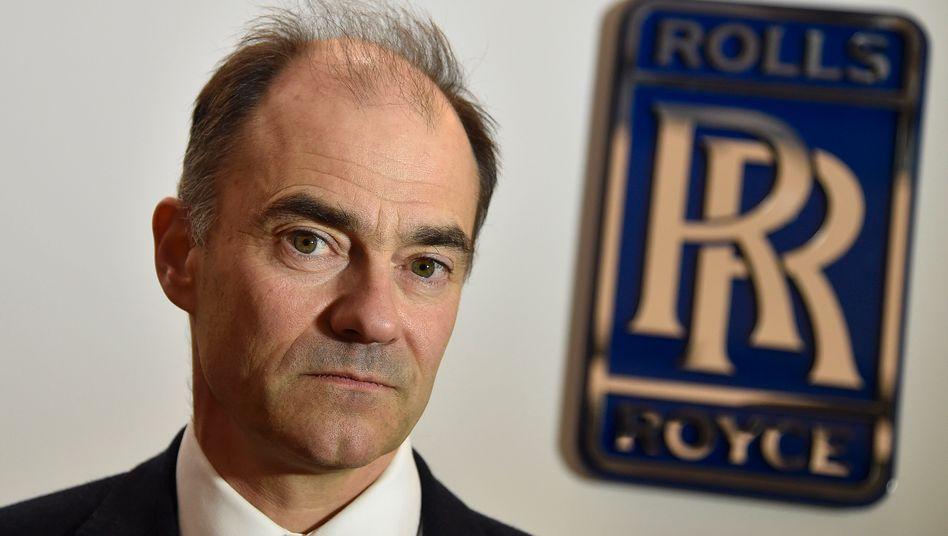 """Stiff upper lip: Rolls-Royce CEO Warren East sieht sich in einer """"guten Lage"""" und fürchtet einen harten Brexit nicht"""