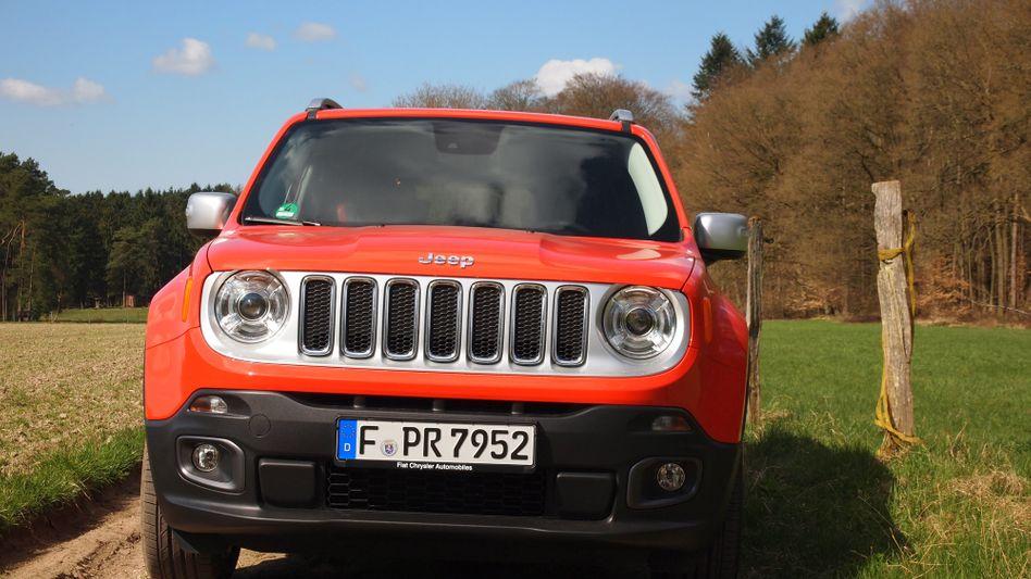 Jeep Renegade: Auch hier gab es offenbar eine Abschalteinrichtung für die Abgasreinigung