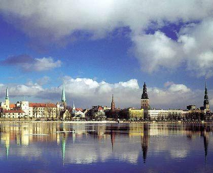 Lettlands Hauptstadt Riga: Verzweifelte Hilferufe nach Brüssel und Washington
