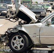 Autounfall: Für die meisten Autofahrer ändert sich die regionale Einstufung ihres Versicherungsvertrages nicht