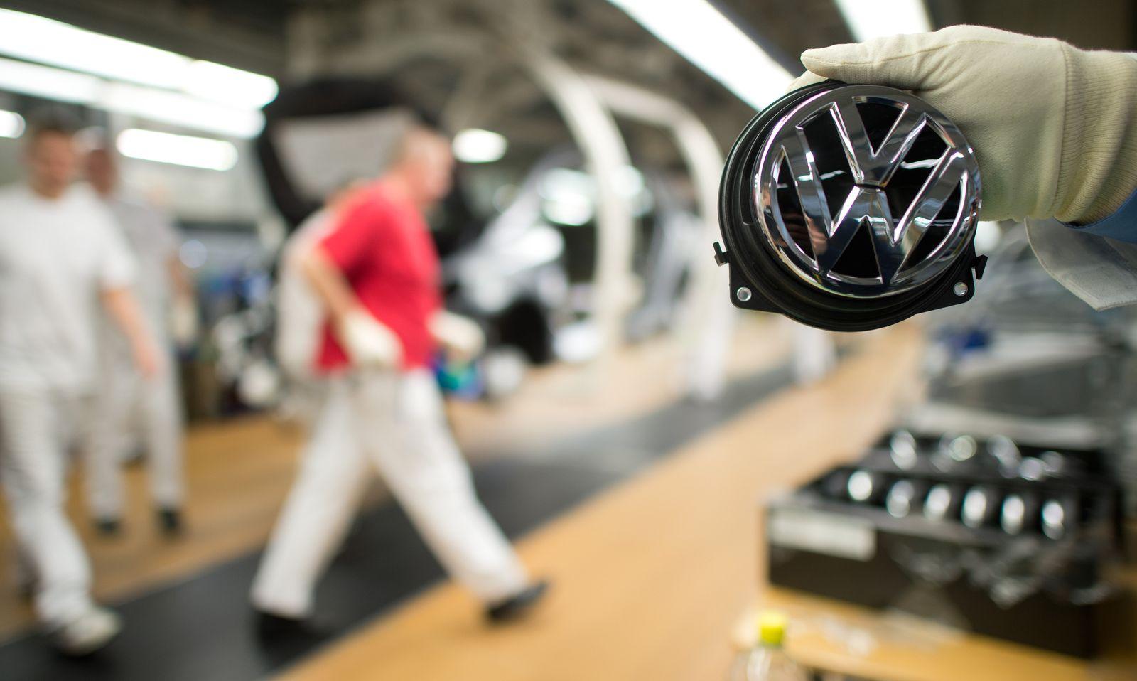 Volkswagen AG/ Wolfsburg/ Produktion