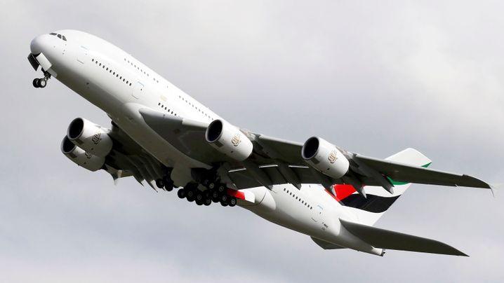 Die wechselvolle Geschichte des A380 in Bildern: Chronik eines Jumbo-Scheiterns