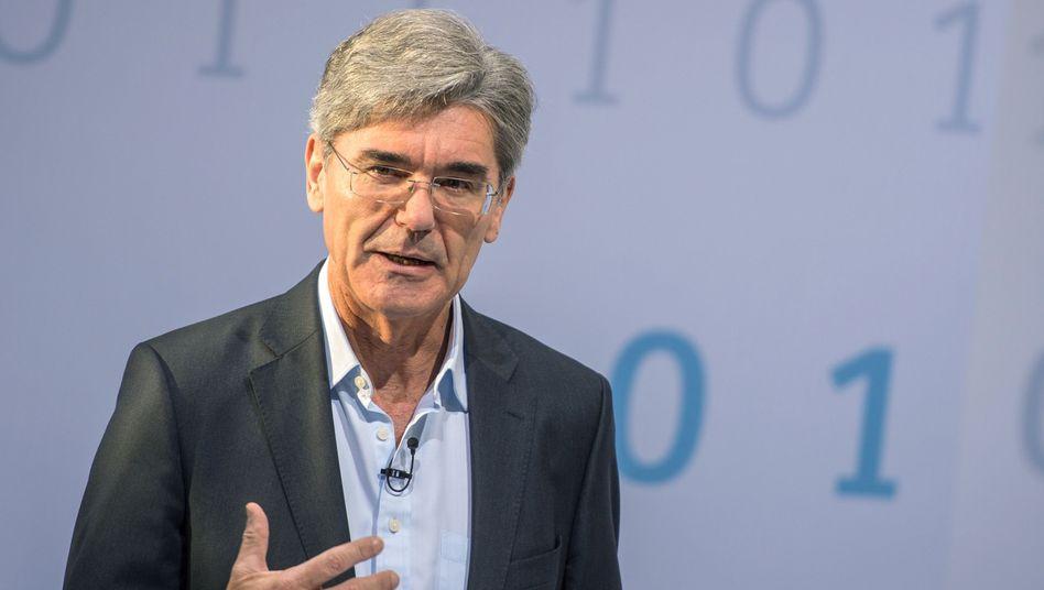"""Joe Kaeser: Der Siemens-Chef will """"massiv in Gesundheitstechnik investieren"""". Das Geschäft mit fossilen Kraftwerken sieht Kaeser dagegen nicht mehr als Kerngeschäft"""
