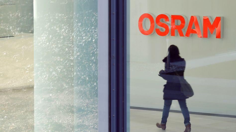 Osram-Zentrale in München: Aktionäre sind gebeutelt, seit Anfang des Jahres verlor das Papier rund 30 Prozent an Wert