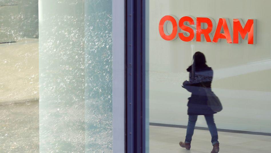 Zum Ausgang: Nach acht Jahren soll Osram wieder vom Frankfurter Kurszettel verschwinden