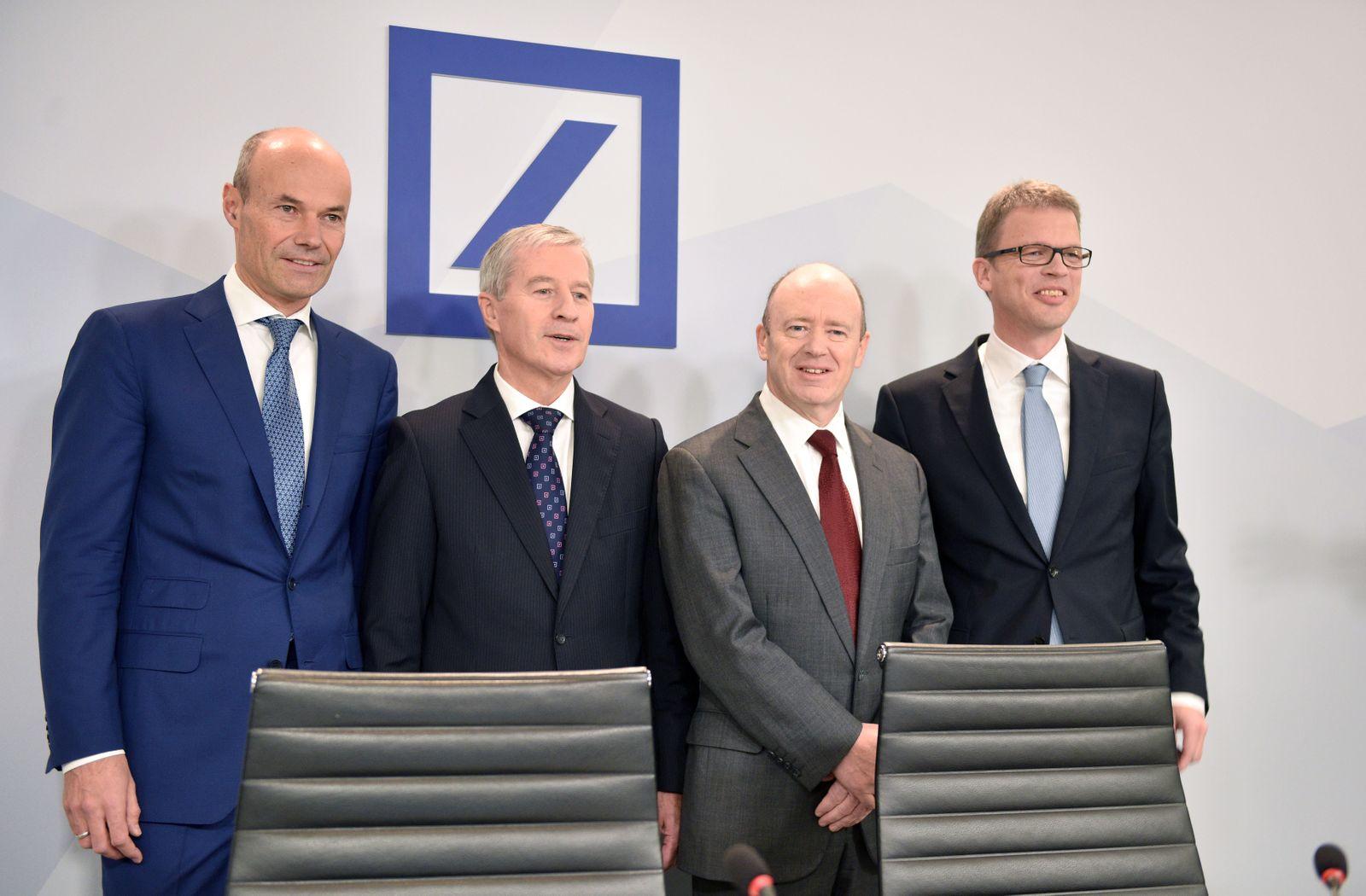 Deutsche Bank / members of the executive board