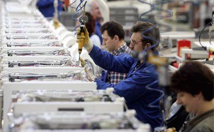 Ohne Investitionen kein Wachstum: Vor allem große Industriebetriebe beklagen eine zurückhaltende Kreditvergabe der Banken