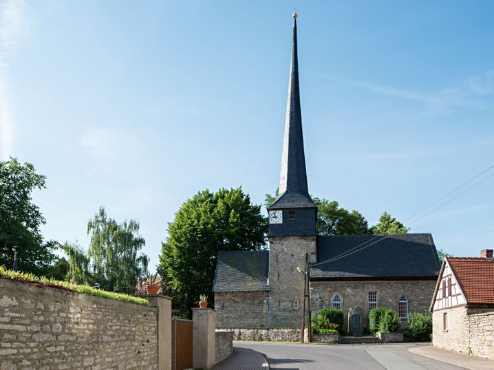 Kirche in Gelmeroda: Lyonel Feininger war ein großer Fahrradliebhaber