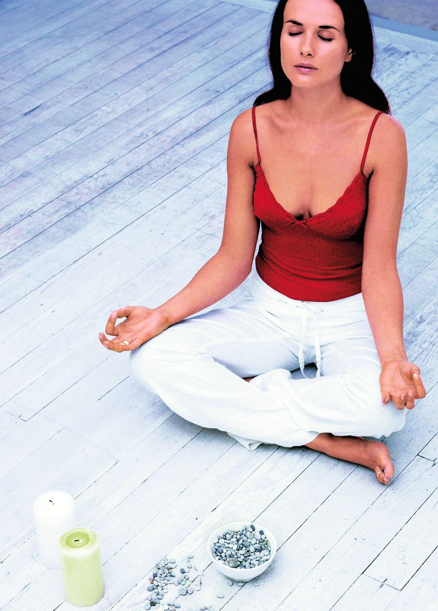 SYMBOLBILD Meditation / Entspannung / Yoga