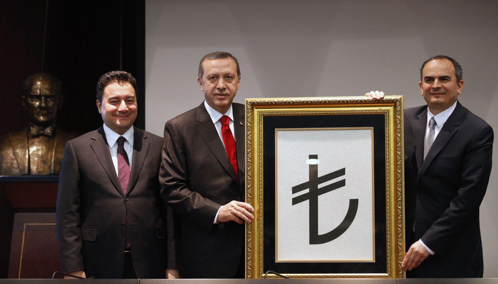 Symbol Lira Türkei