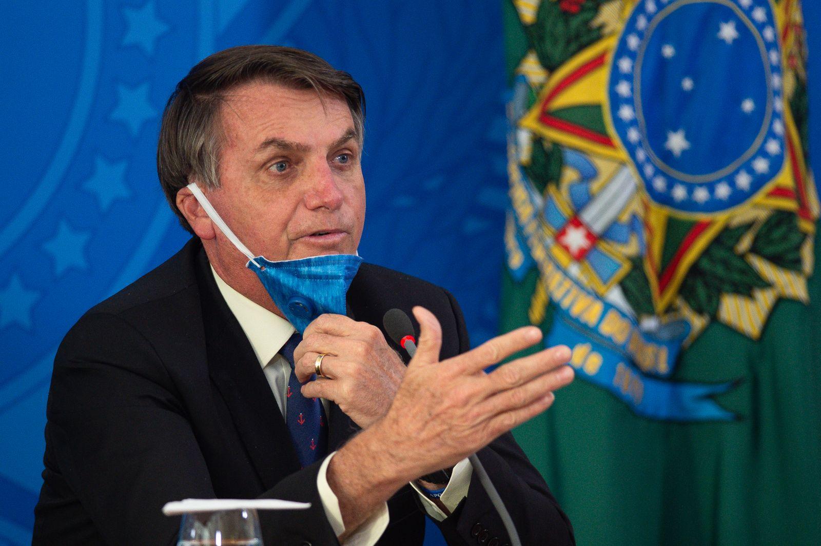 Jair Bolsonaro / Brasilien / Coronavirus