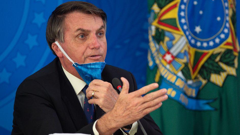 Planlos, ratlos, hirnlos: Bolsonaros Krisenmanagement ist ein Desaster. Nun feuert er seinen Gesundheitsminister