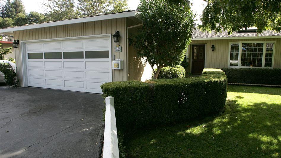 Garage in Menlo Park: Hier wurde Google gegründet. Inzwischen ist im Valley alles etwas teurer