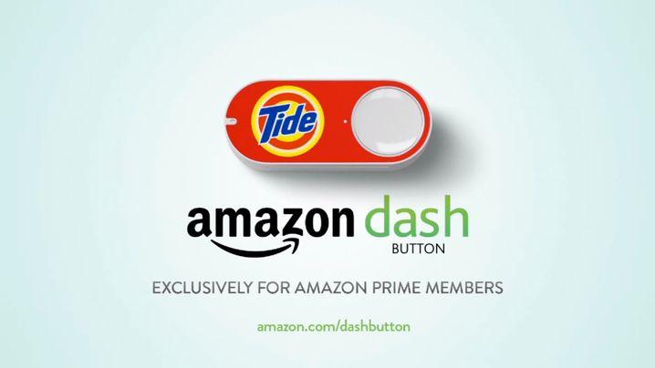 Amazon Dash: Per Knopfdruck neues Waschmittel