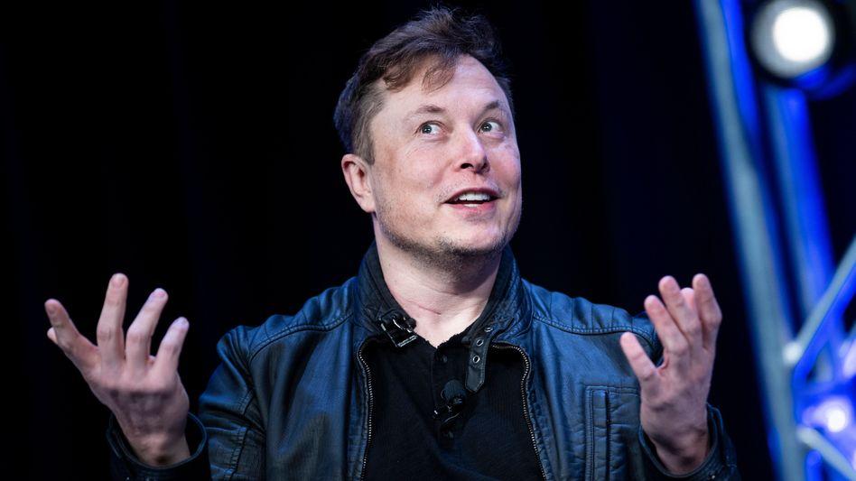 Tesla-Chef Elon Musk bei einer Veranstaltung am 9. März 2020