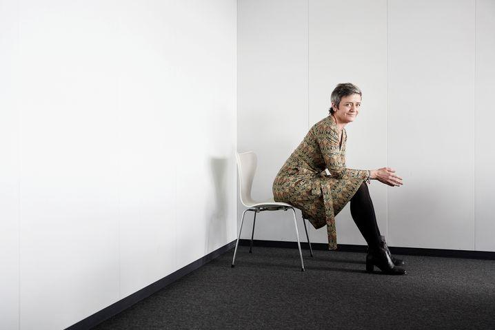 Kampfbereit: EU-Wettbewerbshüterin Margrethe Vestager.