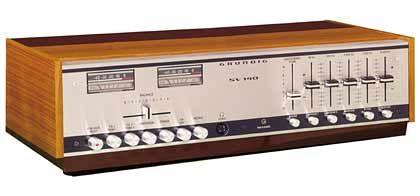 1968 kommt von Grundig der HiFi-Stereo-Verstärker SV 140 mit eingebauten Equalizer auf den Markt. Er kostet damals 1245 Mark.