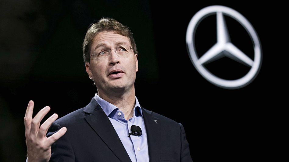 Daimler-Chef Ola Källenius: Aus eins mach zwei