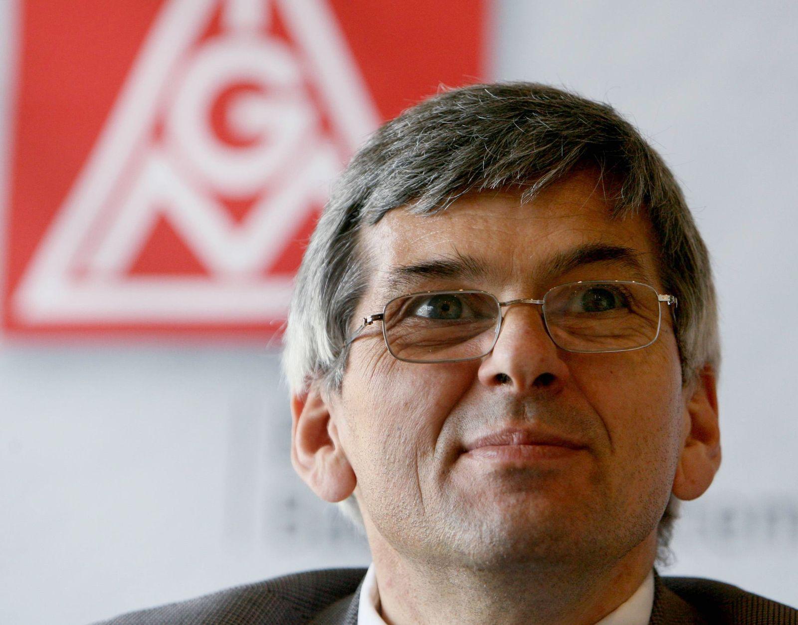 IG Metall Bezirksleiter Jörg Hofmann