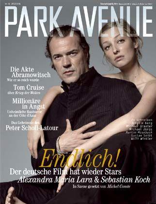 """Neues Blatt: Für """"Park Avenue"""" erhieltG+J beim """"Lead Award"""" eine Auszeichnungals """"Newcomer Magazin des Jahres 2005"""""""